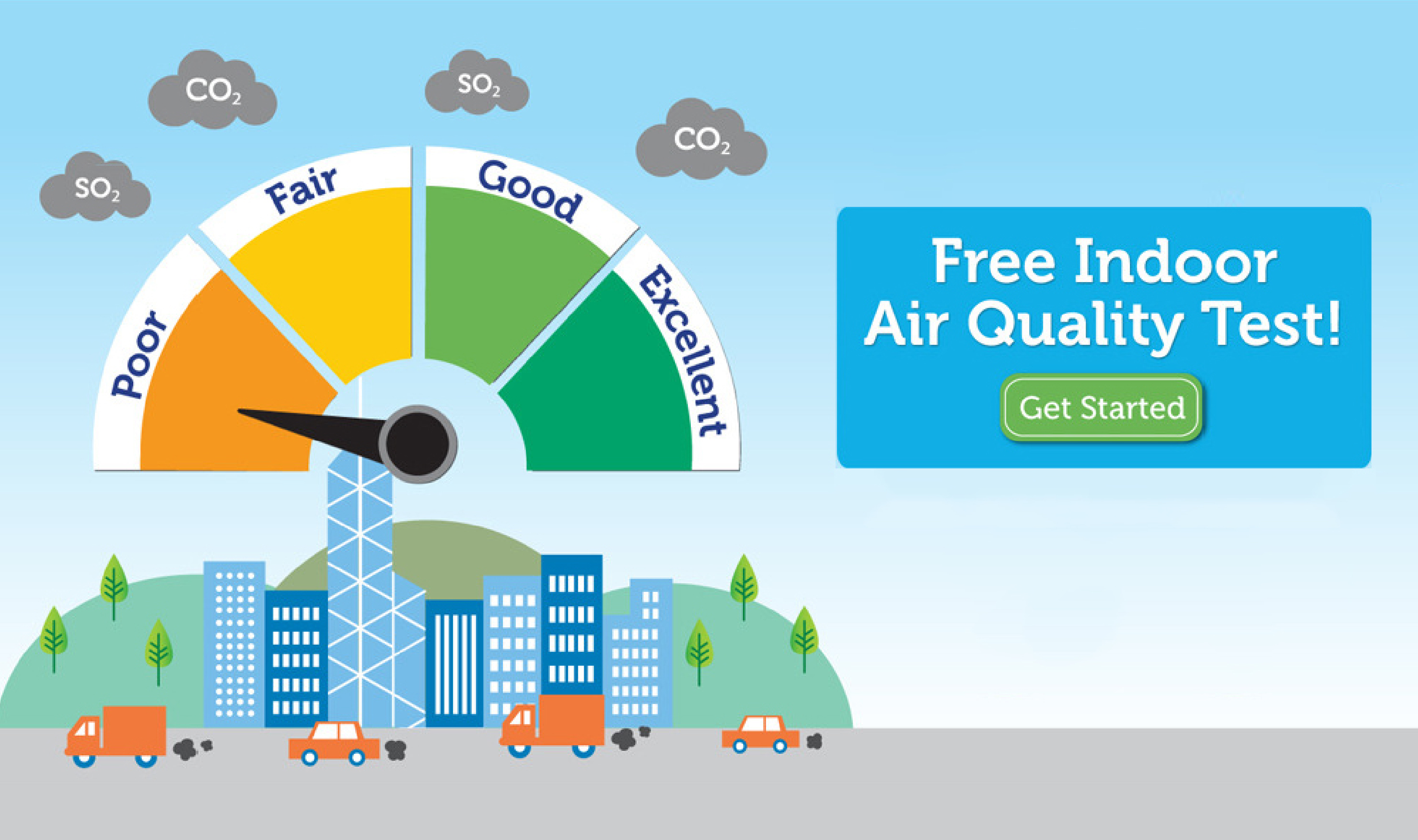 Free Home Air Quality Test